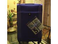 Revellation London purple 3 pieces luggage set