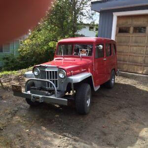 1956 Willys Wagon 4x4