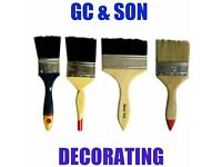 painter and decorator GC & SON DECORATING