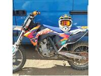 KTM 250 SXF REMAPPED ANIMAL