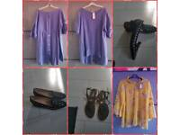 Womens tops and shoes..All new with tags