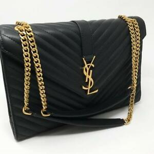 d9732df919fc YSL Envelope Bag Caviar Silver ( More Styles Available)