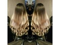 Hair extensions on finance