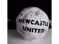 Newcastle United Signed Ball