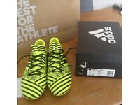 Adidas Nemeziz Football boots adult size 9 UK new boxed