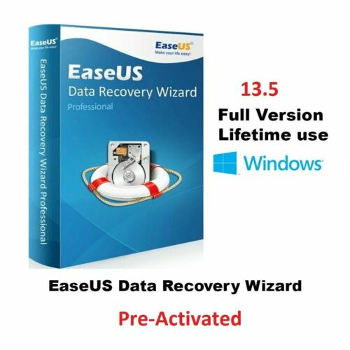 EaseUS-Data-Recovery ✅13.5 Software-Wizard-Technician ✅ FAST DELIVERY