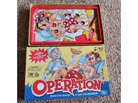 OPERATION - Board game