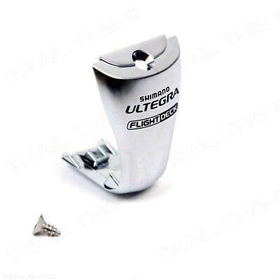 Shimano Ultegra  ST-6600 Shift//Brake Lever Name Plate /& Fixing Screw Silver 1pce