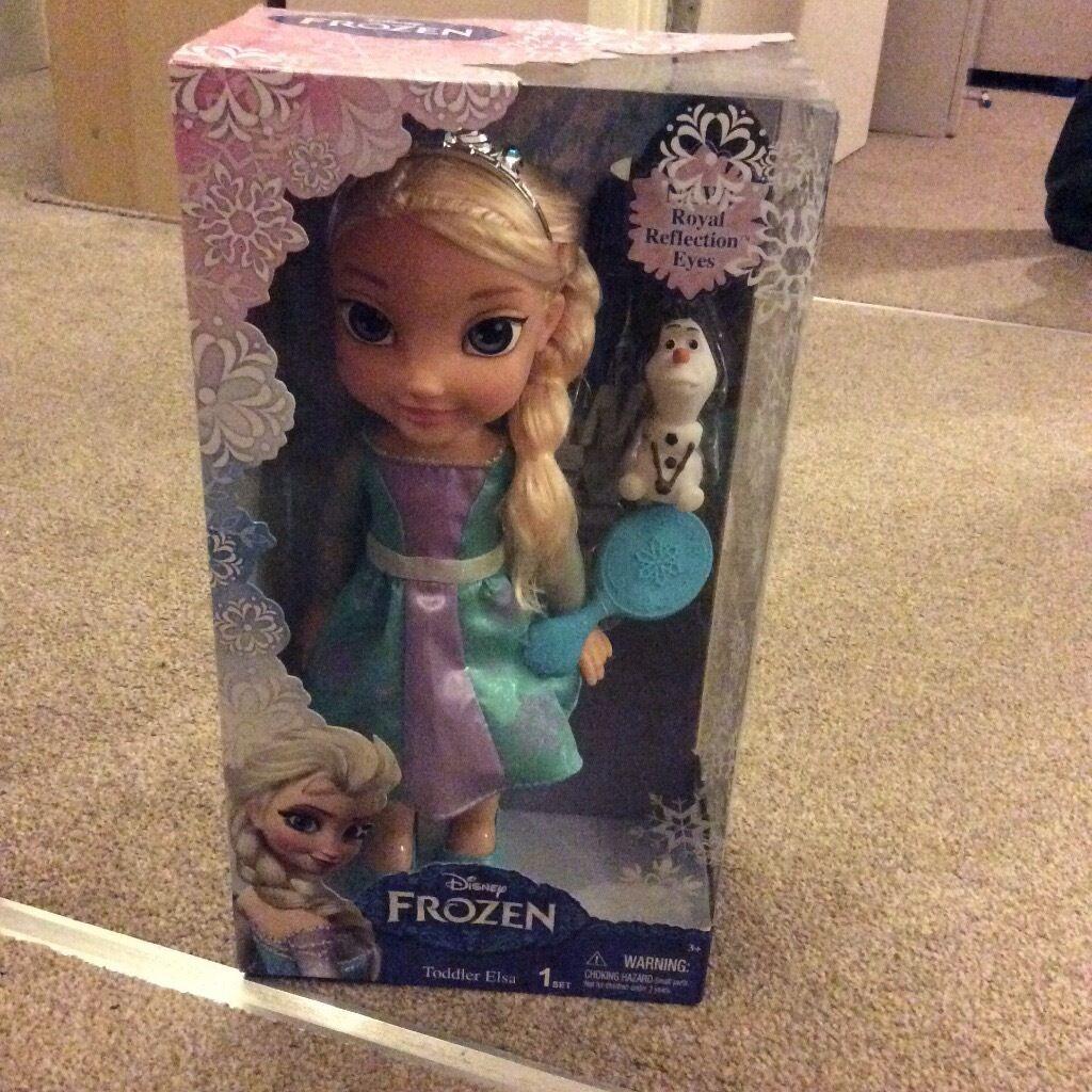 Frozen Elsa toddler doll bnib