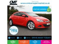 Vauxhall Astra Gtc 1.7 CDTi ecoFLEX SRi (s/s) 3dr Good / Bad Credit Car Finance