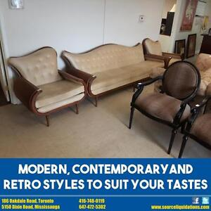 MODERN, CONTEMPORARY AND RETRO STYLE FURNITURE SALE!!!