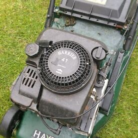 HAYTER 41 self driven mower with roller