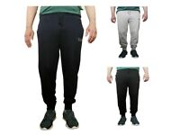 New Mens Skinny Slim Fit Joggers Jogging Bottom Fleece Gym Pants Pockets