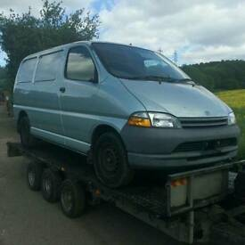 Wanted Toyota Hiace vans £700 cash same day collection 1996 1997 1998 1999 2000 2001 2002 2003
