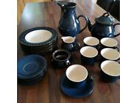 Tea set and dishes
