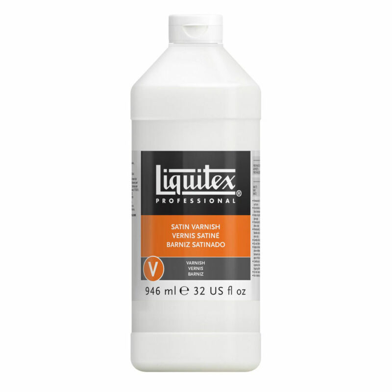 Liquitex Satin Varnish 32 oz Bottle