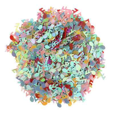 Lovely Music Note Confetti Table Scatter Throwing Confetti Bag Filler 15g