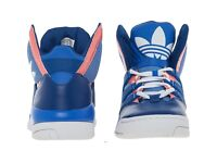 ADIDAS Royal Blue GLC High Top Trainers Size UK 3.5