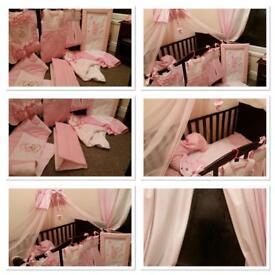 Girls combed/junior bed bedding set