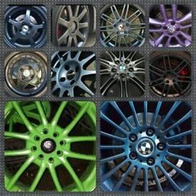 Alloy Wheel Refurb & Spray