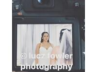 Female wedding photographer