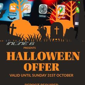 Halloween offer | Apple CarPlay | BMW Coding | Dash / Reverse Camera Installation | Maps & More