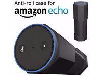 Amazon Echo Case Cover Stand [Anti-Roll] Silicone Accessories