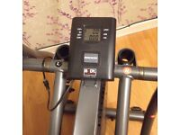 Cross trainer excellent condition rarely used £75. Phone or text only