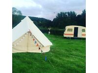 Bell tent for sale,4 mtr diameter canvas good condition