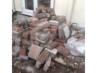 Old red bricks