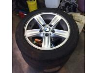 Bmw 1 series alloys