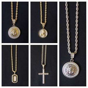 18kt gold filled chains/necklaces with pendants Coolangatta Gold Coast South Preview