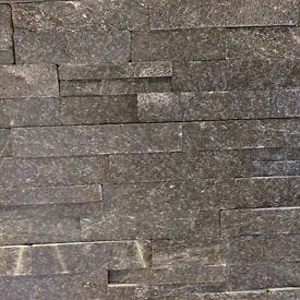 Black Slate Cladding Tiles