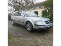 Volkswagen Passat estate, 2005. Excellent family car in great condition. 12 months M.O.T
