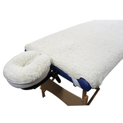 - New Deluxe EarthGear Massage Table Fleece Sheet Cover & Face Rest Pad Set