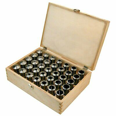 Toolmex 5c Collets 18 Piece Set Made In Poland 116 - 1 18 Round