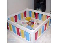 TEKPLAS Baby and Toddler Playpen Multicolour