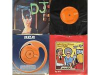 13 7-inch 45 rpm singles Bowie,eighties Etc
