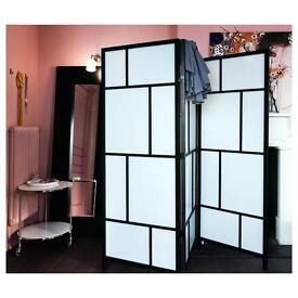 Modern stylish room divider screen