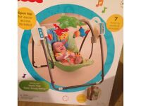FISHER PRICE RAIN FOREST SWING AS NEW IN BOX
