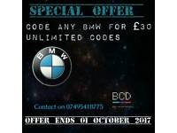 Bmw coding E & F Series Special Promotional Price