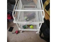 Ikea Algot storage frames and baskets for sale