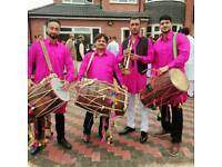 Dhol players brass band phone number 07821493021