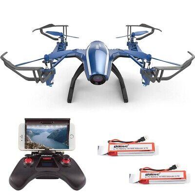 Udirc U28W RC Quadcopter WIFI FPV Drone Altitude Hold w/ HD Camera Headless Mode