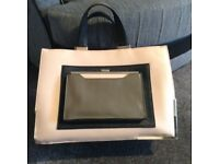 River island handbag limited edition perfect condition apart from gold trim missing see photos