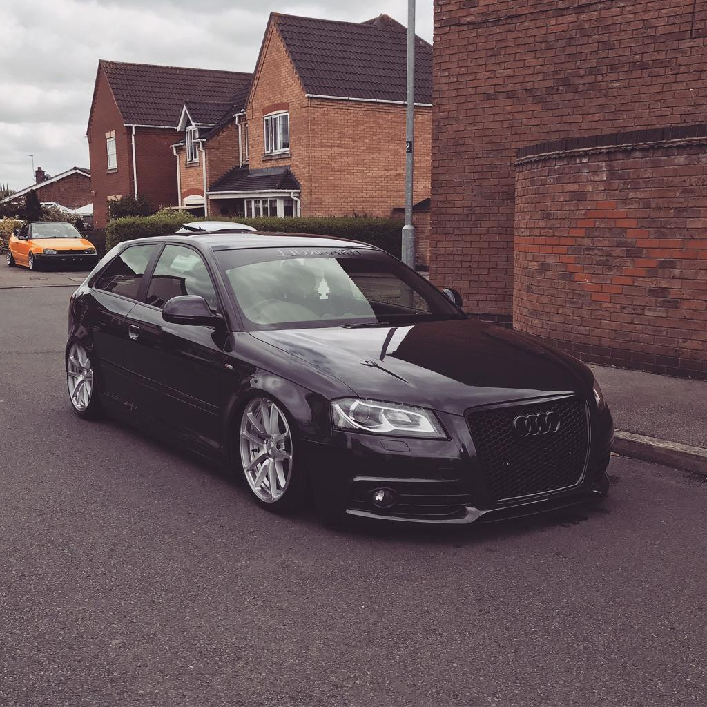 audi a3 2 0 tdi modified in lutterworth leicestershire gumtree. Black Bedroom Furniture Sets. Home Design Ideas