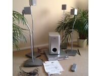 JVC home cinema system with instructions - bargain!