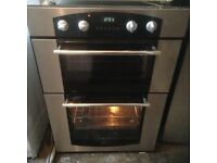 Double oven,stainless steel,excellent condition,£85.00