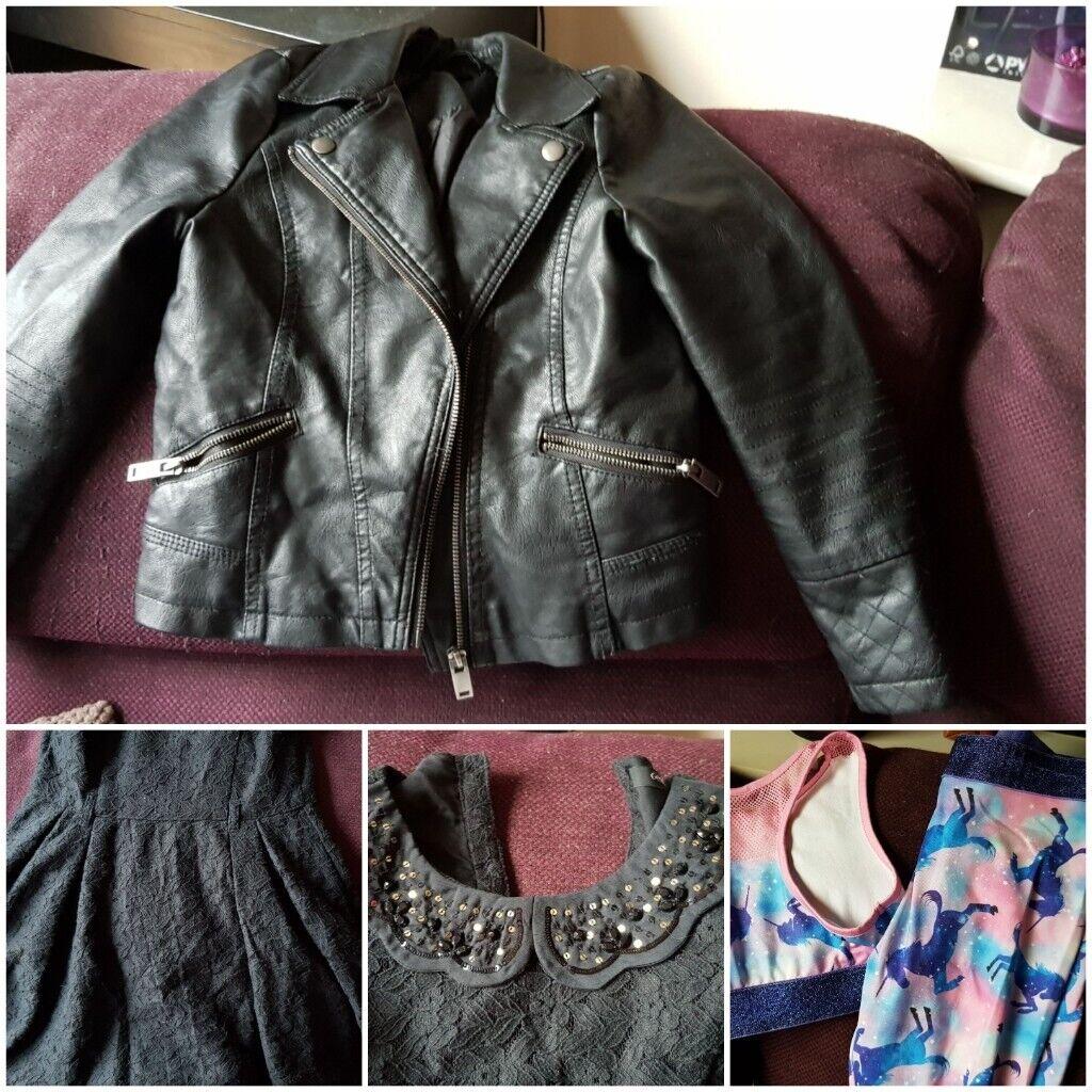 cb6f054baf24 Bundle of girls age 7 - 8 clothes 10 items