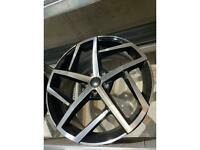 "19"" alloy wheels alloys rims tyres fits Vw Volkswagen seat Skoda Audi 5x112 gti"